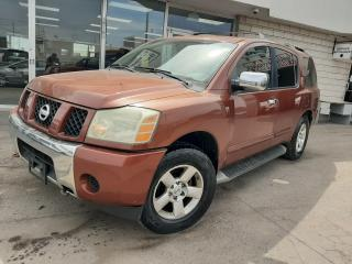 Used 2004 Nissan Pathfinder Armada SE *No Accidents* AWD** for sale in Oakville, ON