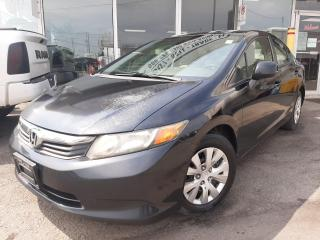 Used 2012 Honda Civic Sdn ***NO ACCIDENTS***Manual*** for sale in Oakville, ON