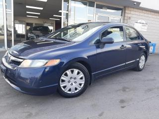Used 2007 Honda Civic Sdn ***Winter Tires***2 Owners*** for sale in Oakville, ON