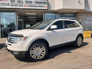 Used 2009 Ford Edge Limited ~ ONE OWNER~ NO ACCIDENTS~ DVD entertainment system~ for sale in Oakville, ON