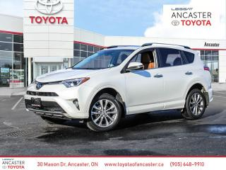 Used 2017 Toyota RAV4 Limited PLATINUM AWD Leather Nav for sale in Ancaster, ON