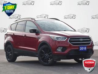 Used 2018 Ford Escape Titanium TITANIUM | SPORT APPEARANCE PKG | 4WD | PANORAMIC ROOF |  LEATHER | ONE OWNER | LOW KM | for sale in Waterloo, ON