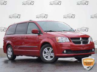 Used 2014 Dodge Grand Caravan Crew CREW | HEATED SEATS | POWER TAILGATE| POWER SLIDING DRS|  BLUETOOTH for sale in Waterloo, ON