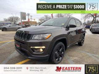 New 2021 Jeep Compass Altitude | Remote Start | Backup Cam | Htd Seats | for sale in Winnipeg, MB