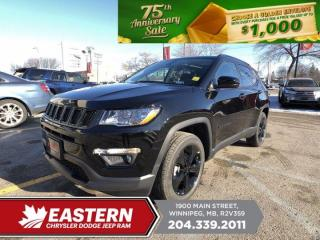 New 2021 Jeep Compass Altitude | Panoramic Sunroof | Backup Camera | for sale in Winnipeg, MB
