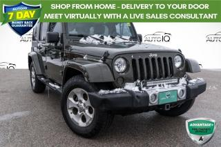 Used 2015 Jeep Wrangler Unlimited Sahara ***RARE 6-SPEED MANUAL TRANSMISSION!!! SAHARA!!! for sale in Barrie, ON