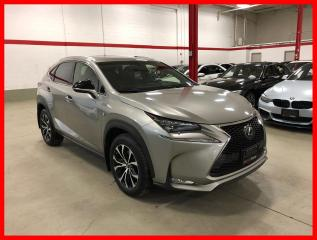 Used 2017 Lexus NX 200t NX200T F-SPORT 3 RIOJA RED INT! for sale in Vaughan, ON