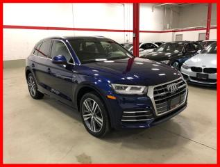 Used 2018 Audi Q5 TECHNIK S-LINE SPORT CLEAN CARFAX! for sale in Vaughan, ON