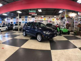 Used 2017 Volkswagen Tiguan WOLFSBURG EDITION  AUT0 AWD LEATHER PANO/ROOF CAMERA PUSH START 94K for sale in North York, ON