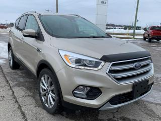 Used 2017 Ford Escape Titanium for sale in Harriston, ON