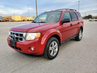 Used 2011 Ford Escape NO ACCIDENT, HEATED SEATS, SUNROOF, CERTIFIED for sale in Mississauga, ON