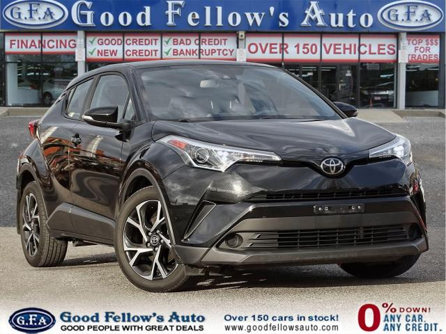 2018 Toyota C-HR XLE MODEL, 2.0L 4CYL, REARVIEW CAMERA, BLIETOOTH