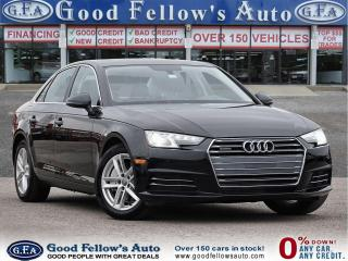 Used 2017 Audi A4 KOMFORT 2.0L, QUATTRO, LEATHER SEATS, SUNROOF for sale in Toronto, ON