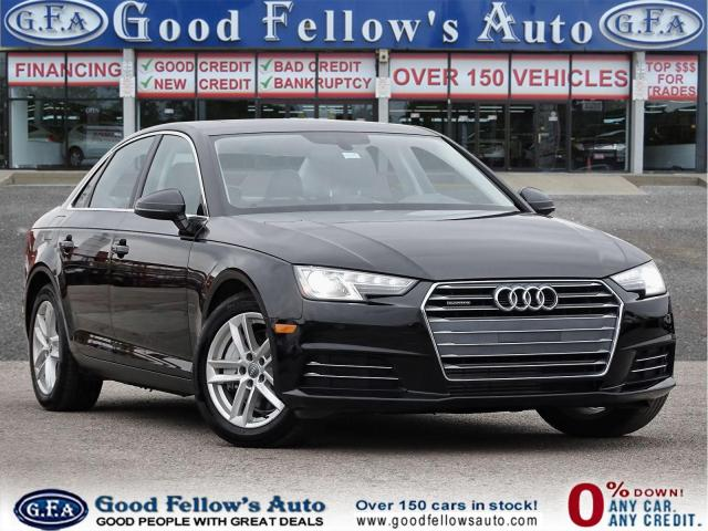 2017 Audi A4 KOMFORT 2.0L, QUATTRO, LEATHER SEATS, SUNROOF