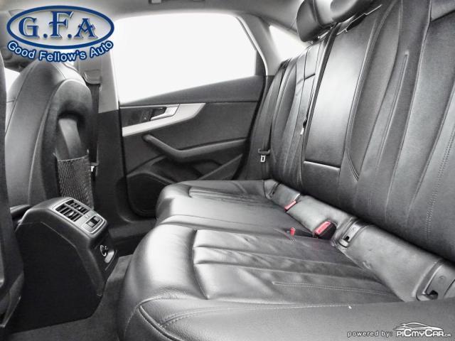 2017 Audi A4 KOMFORT 2.0L, QUATTRO, LEATHER SEATS, SUNROOF