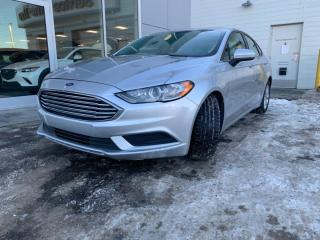 Used 2017 Ford Fusion SE - BACK UP, HEATED SEATS, REMOTE START, IN STUNNING SILVER! for sale in Edmonton, AB