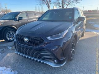 New 2021 Toyota Highlander XSE AWD for sale in Portage la Prairie, MB