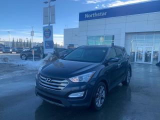 Used 2013 Hyundai Santa Fe SE AWD//NEWENGINE/TURBO/LEATHER/PANOROOF/HEATEDSEATSANDSTEERING for sale in Edmonton, AB