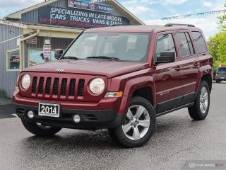Used 2014 Jeep Patriot North,4X4,BLUETOOTH,SATELLITE RADIO for sale in Orillia, ON