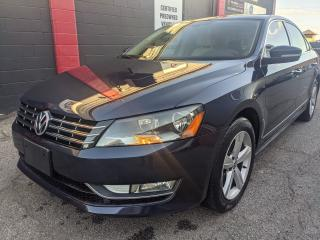 Used 2015 Volkswagen Passat COMFORTLINE, TDI, One owner, No accidents, 2 keys for sale in Burlington, ON