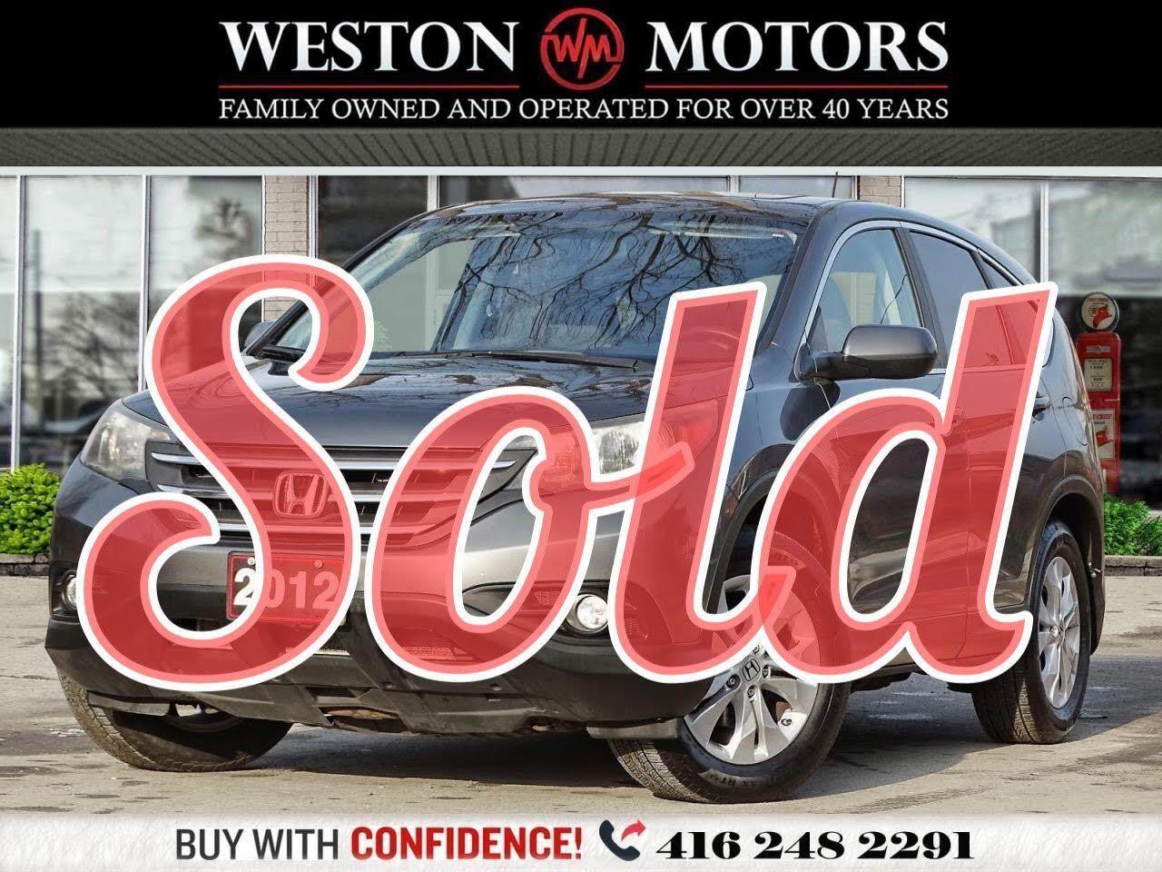 2012 Honda CR-V EX-L*AWD*REVCAM*SUNROOF*LEATHER!!*