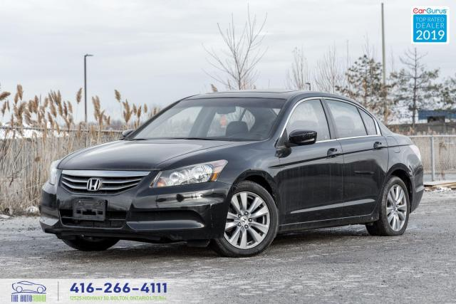 2011 Honda Accord EX-L w/Navi|Leather|Camera|Clean Carfax|