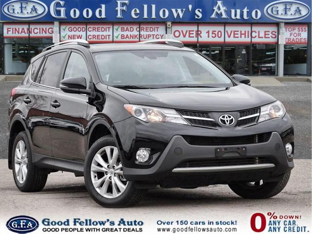 2014 Toyota RAV4 LIMITED, AWD, SUNROOF, NAVIGATION, LEATHER SEATS