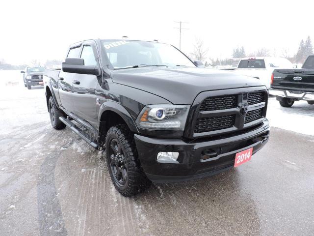 2014 RAM 2500 Laramie Diesel 4X4 Leather Only 106000 km