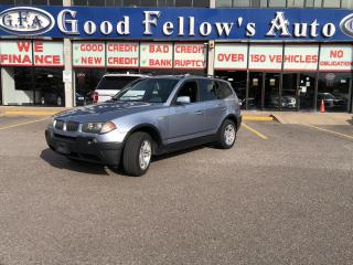 Used 2004 BMW X3 LEATHER & HEATED SEATS, POWER SEATS, AWD, ALLOY for sale in Toronto, ON