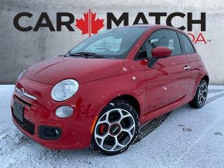 Used 2016 Fiat 500 SPORT / LEATHER / 92446 KM for sale in Cambridge, ON