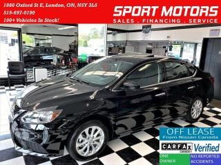 Used 2016 Nissan Sentra SV+Sunroof+Alloys+Camera+HeatedSeats+ACCIDENT FREE for sale in London, ON