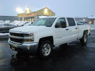 Used 2018 Chevrolet Silverado 1500 LS CrewCab 4x4 5.3L 6.5ft Box BackUpCam for sale in Brantford, ON