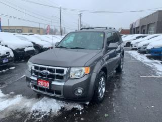 Used 2010 Ford Escape Limited,4x4 for sale in Hamilton, ON