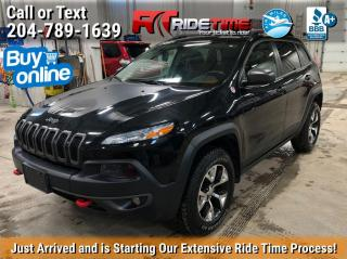 Used 2016 Jeep Cherokee Trailhawk for sale in Winnipeg, MB