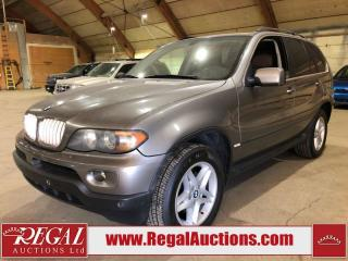 Used 2004 BMW X5 4D Utility 4.4I for sale in Calgary, AB