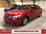 Photo of Red 2007 Toyota Camry