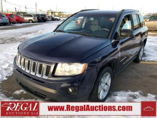 Used 2013 Jeep Compass North 4D Utility 4WD 2.4L for sale in Calgary, AB