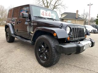 Used 2008 Jeep Wrangler Unlimited Sahara/ONE OWNER/NO ACCIDENT/SAFETY INCL for sale in Cambridge, ON
