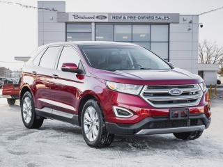 Used 2017 Ford Edge Titanium 301A | NAV | ROOF | 1 OWNER | CLEAN CARFAX for sale in Winnipeg, MB