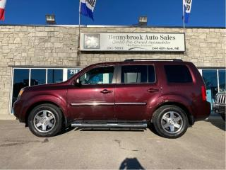 Used 2011 Honda Pilot Touring navigation leather 7 passenger for sale in Calgary, AB