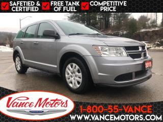 Used 2015 Dodge Journey CVP/SE Plus...REMOTE ENTRY*CRUISE CONTROL*A/C! for sale in Bancroft, ON