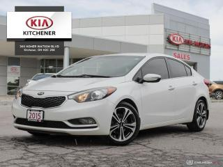 Used 2015 Kia Forte SX - NEW TIRES for sale in Kitchener, ON