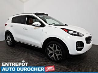 Used 2017 Kia Sportage SX Turbo AWD Navigation - Toit Ouvrant- A/C - Cuir for sale in Laval, QC