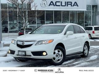Used 2014 Acura RDX Tech at for sale in Markham, ON