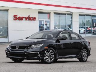 New 2021 Honda Civic Sedan EX CVT for sale in Brandon, MB