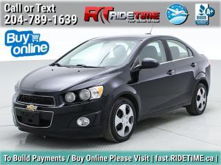 Used 2016 Chevrolet Sonic LT for sale in Winnipeg, MB