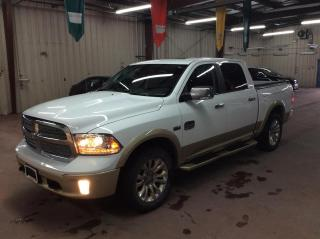 Used 2017 RAM 1500 4WD Crew Cab 140.5  Longhorn for sale in Ottawa, ON