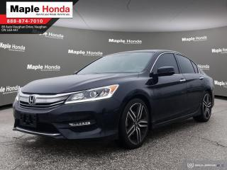Used 2016 Honda Accord Sport| Push start| Apple Car Play| Android Auto| R for sale in Vaughan, ON