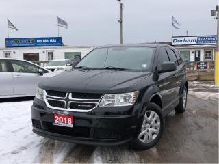 Used 2016 Dodge Journey Canada Value Pkg for sale in Whitby, ON