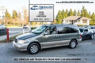 Used 2004 Kia Sedona EX, Local, No Declarations, Leather Heated Seats, Sunroof! for sale in Surrey, BC